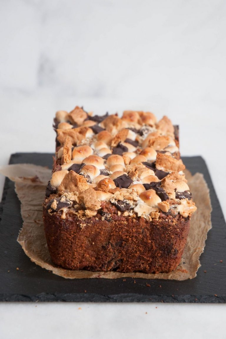 Smores-Banana-Bread