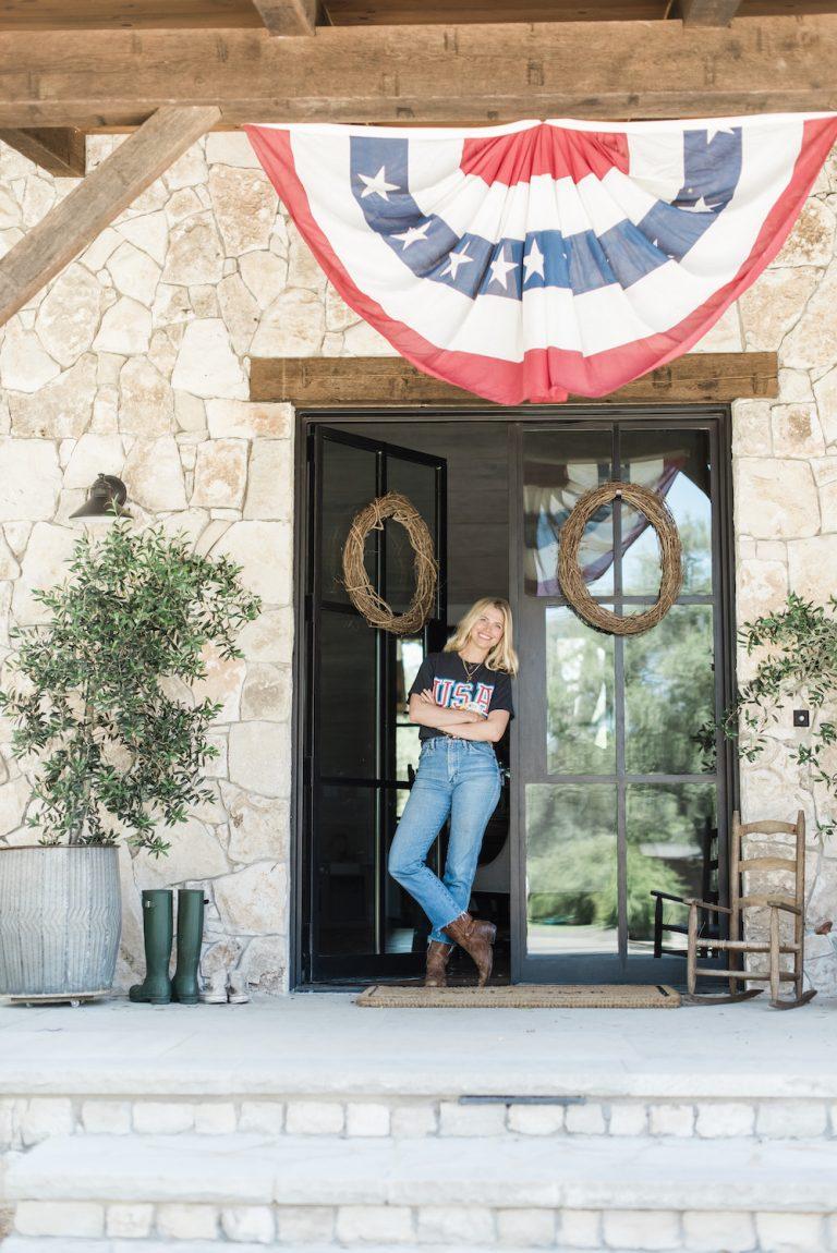 patriot hill country texas home design vintage inspiração antiga home tour design idéias