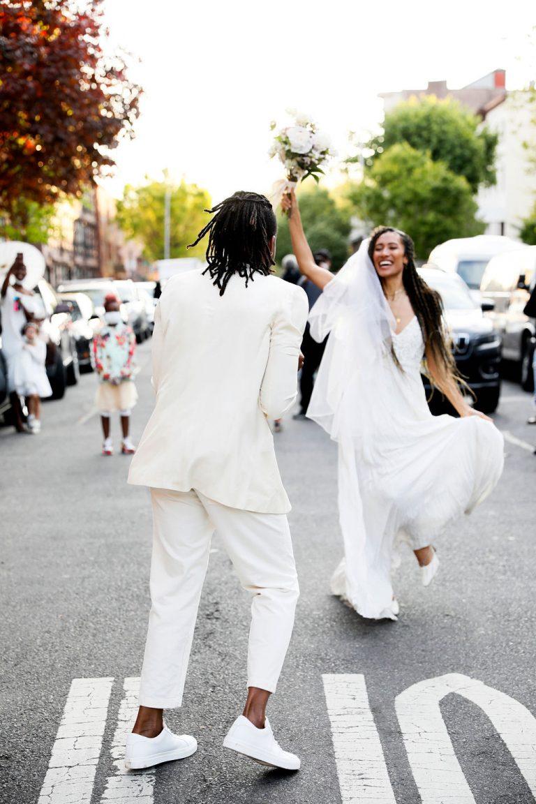 Casamento de Elaine Welteroth no Brooklyn