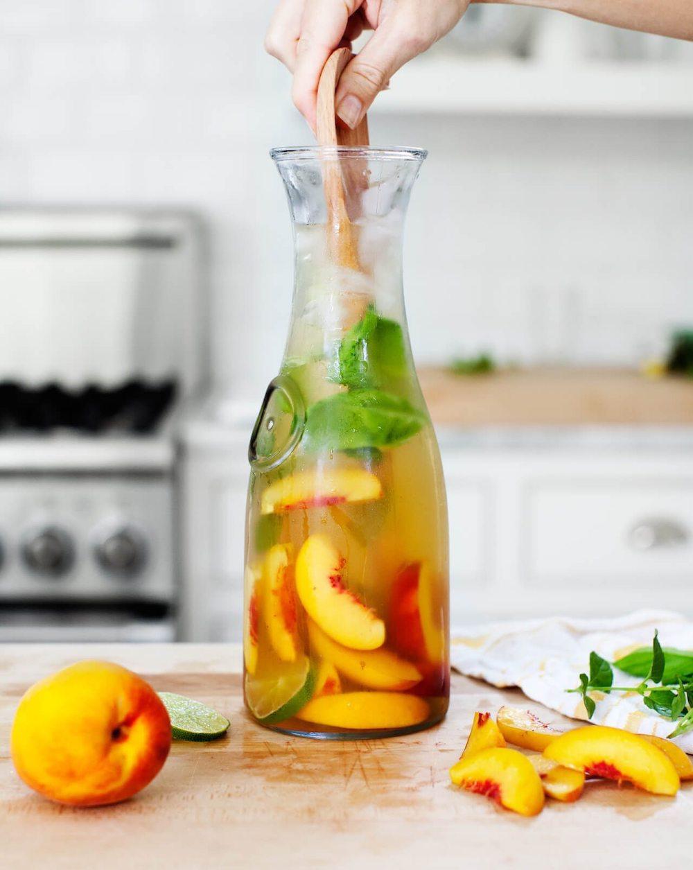 peach-sangria-EASY-Summer-Peach-SO-delicious-vegan-glutenfree-recipe-summer-peach--camille-styles