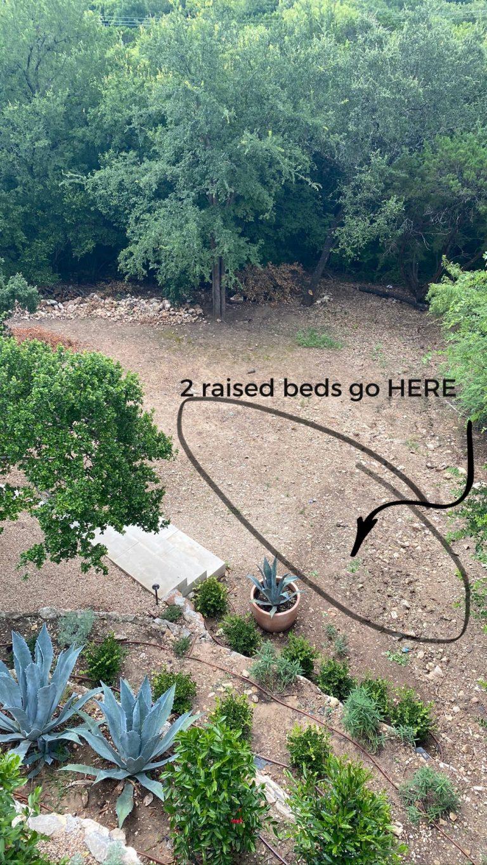 camille styles raised kitchen garden beds
