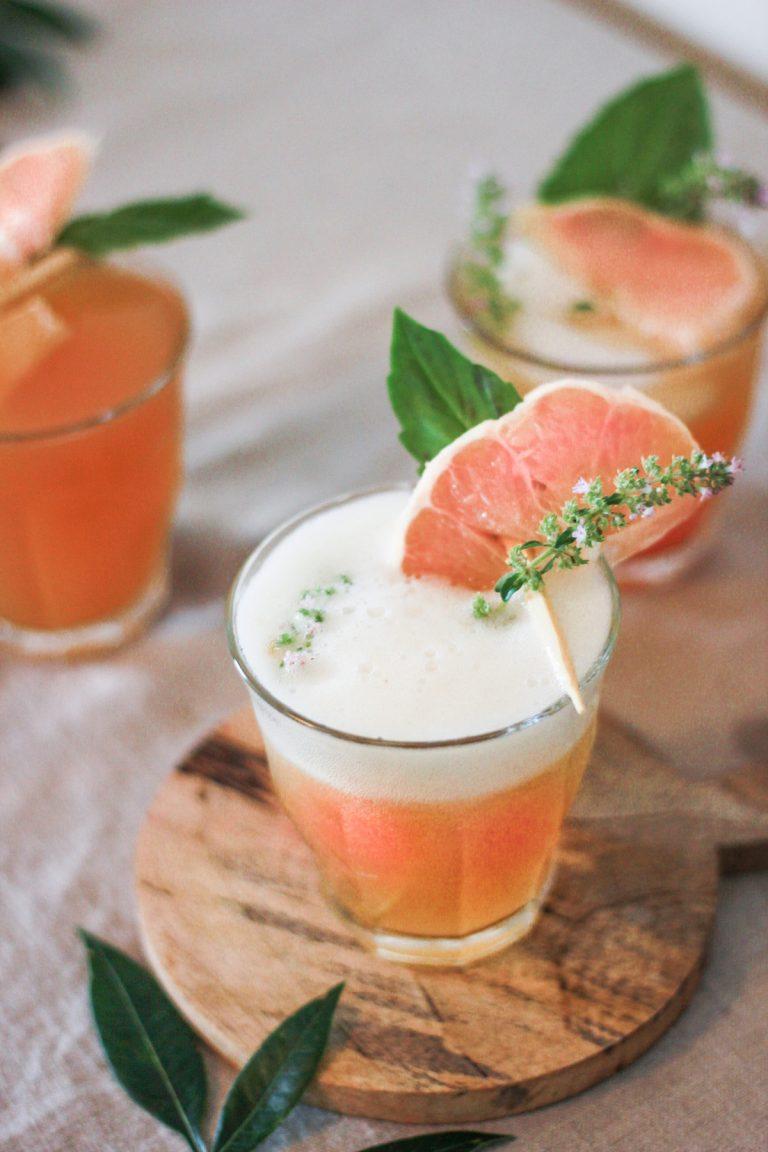 kombucha, drinks, summer, homemade, grapefruit