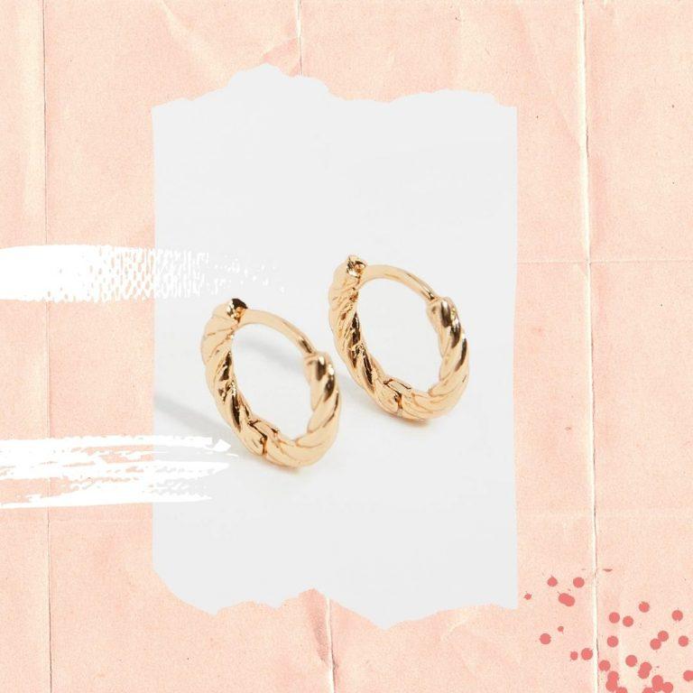 the best everyday hoop earrings