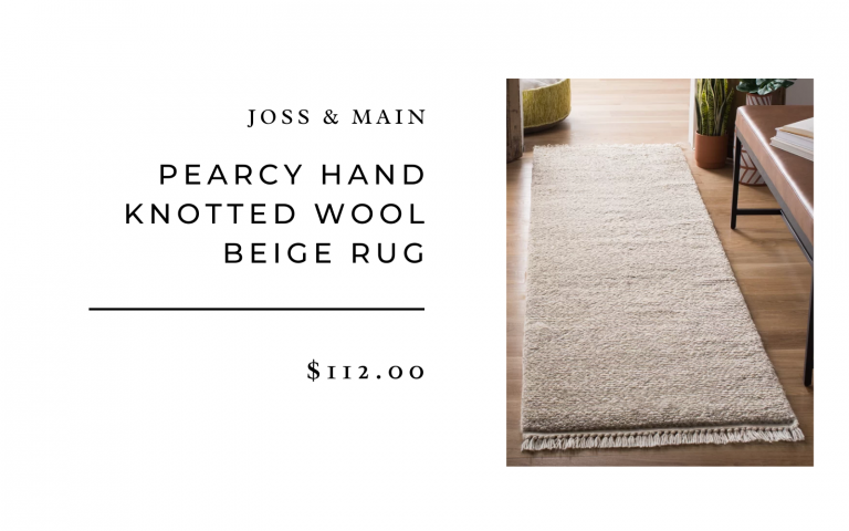 joss and main wool rug