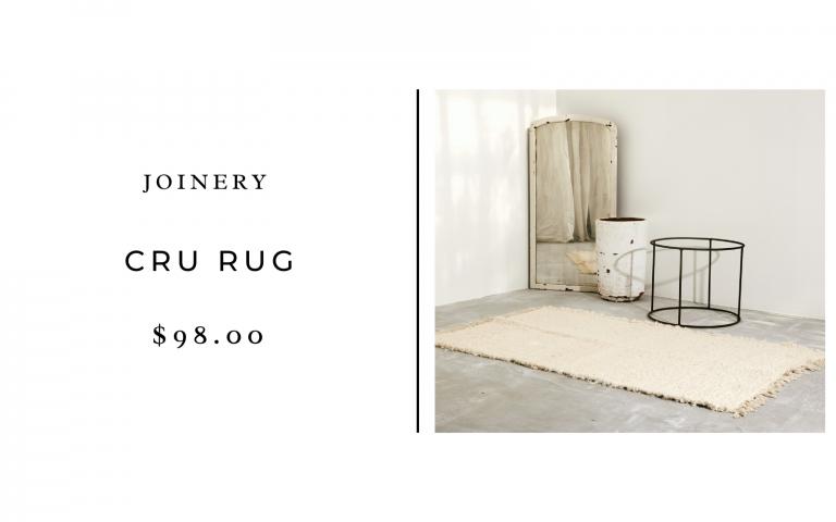 joinery cru rug