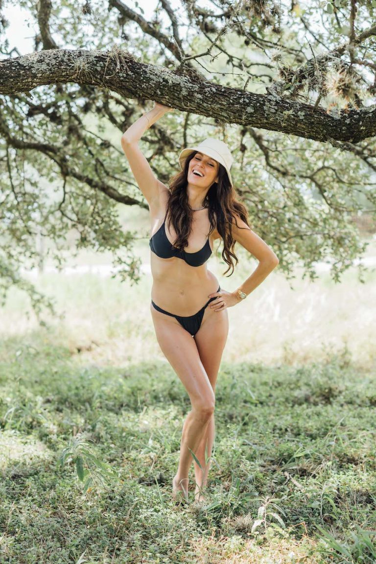 nicole trunfio at the ranch she shares with husband gary clark jr in kyle texas