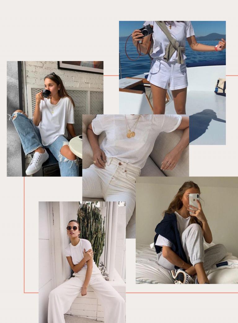 camiseta branca, camiseta
