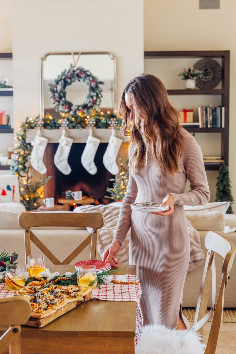camille styles setting the table for christmas