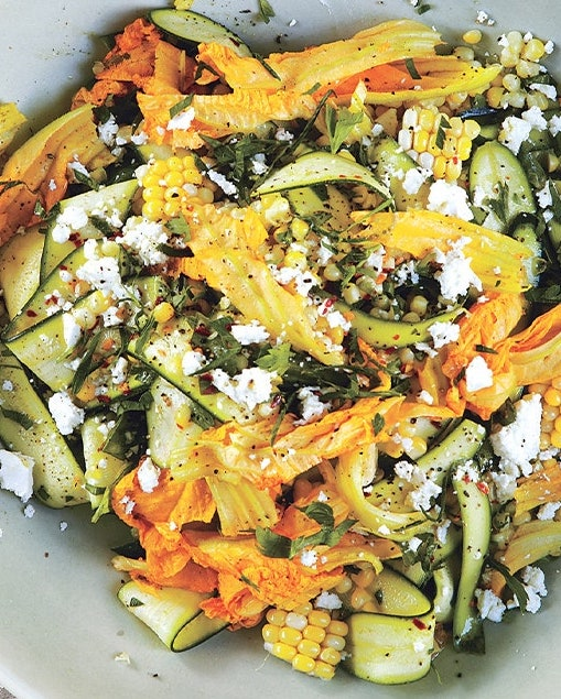 corn and zucchini salad from bon appetit