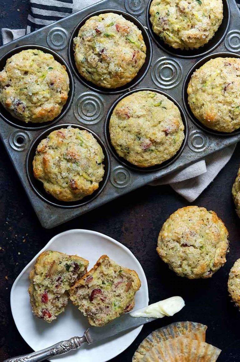 zucchini muffins king arthur baking