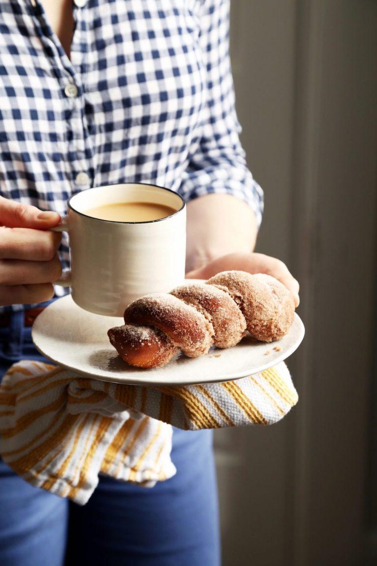 rosquillas, café, hornear