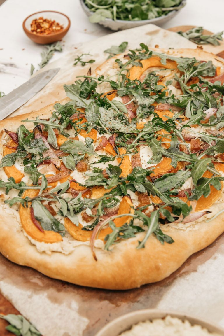 Butternut-Squash-Flatbread-With-Rúcula-Almendra Ricotta-4216 copia