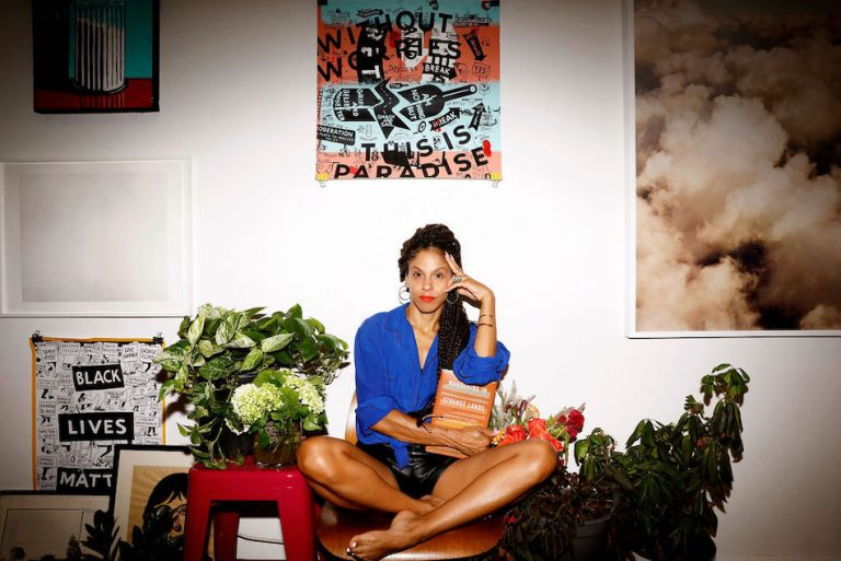 Lani Halliday, chef/owner of Brutus Bakeshop, at home in Brooklyn