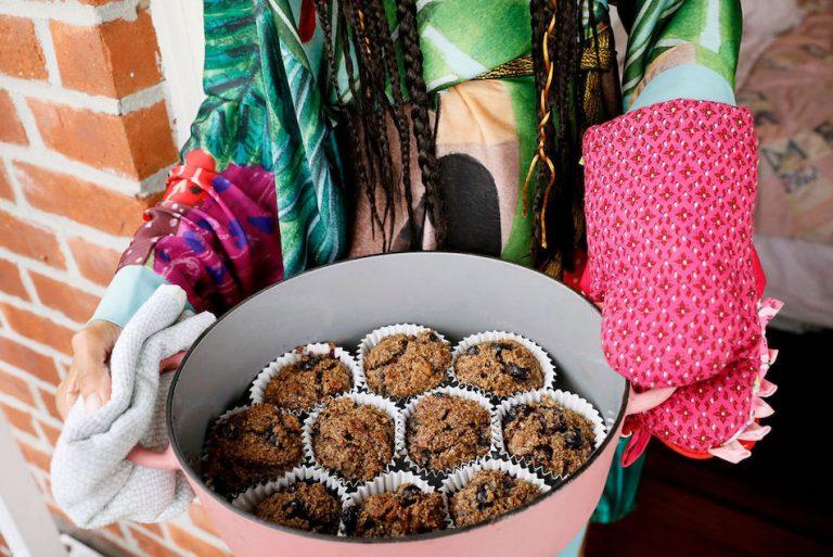 Lani Halliday gluten free muffin recipe