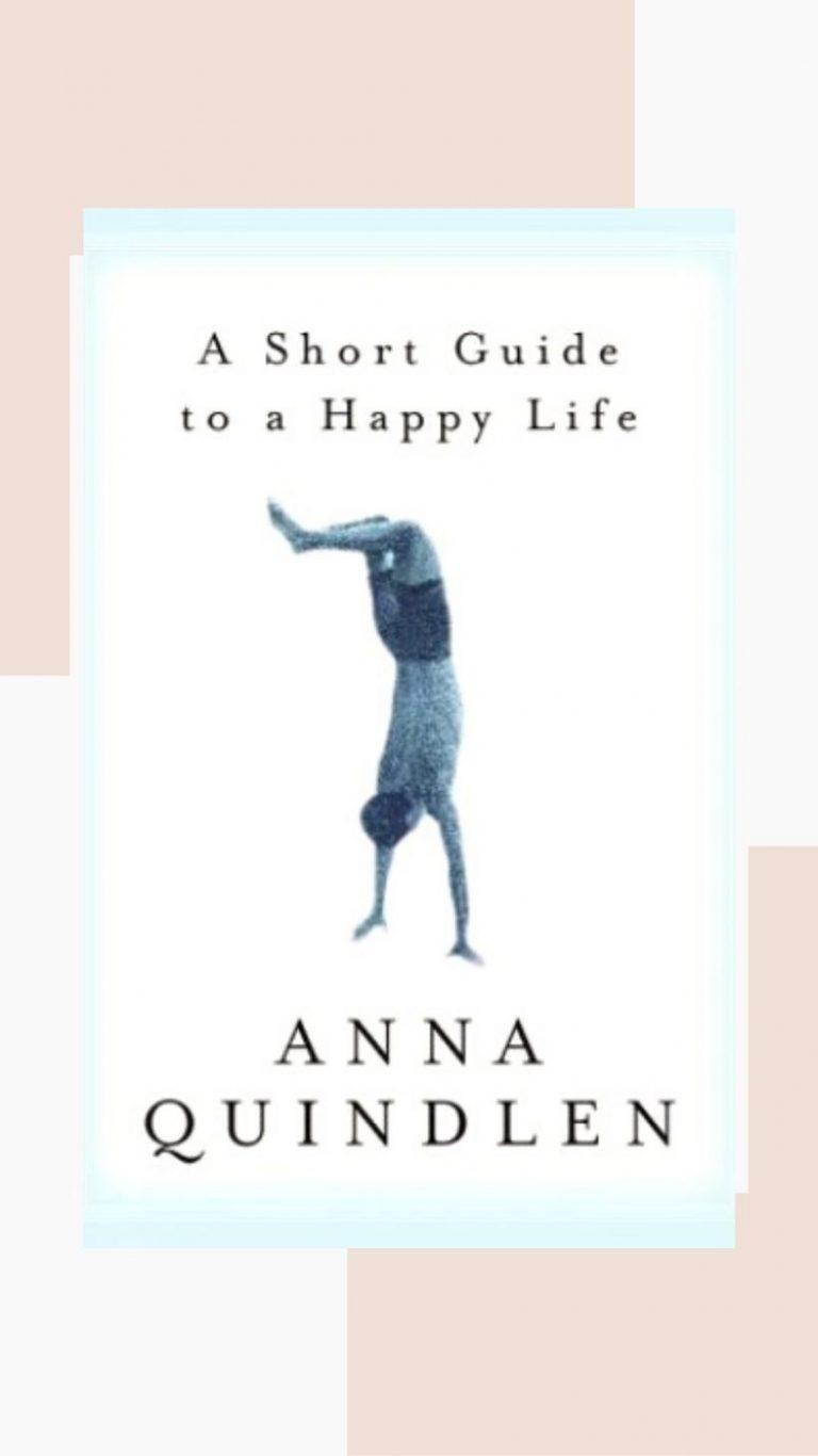 una breve guía para una vida feliz
