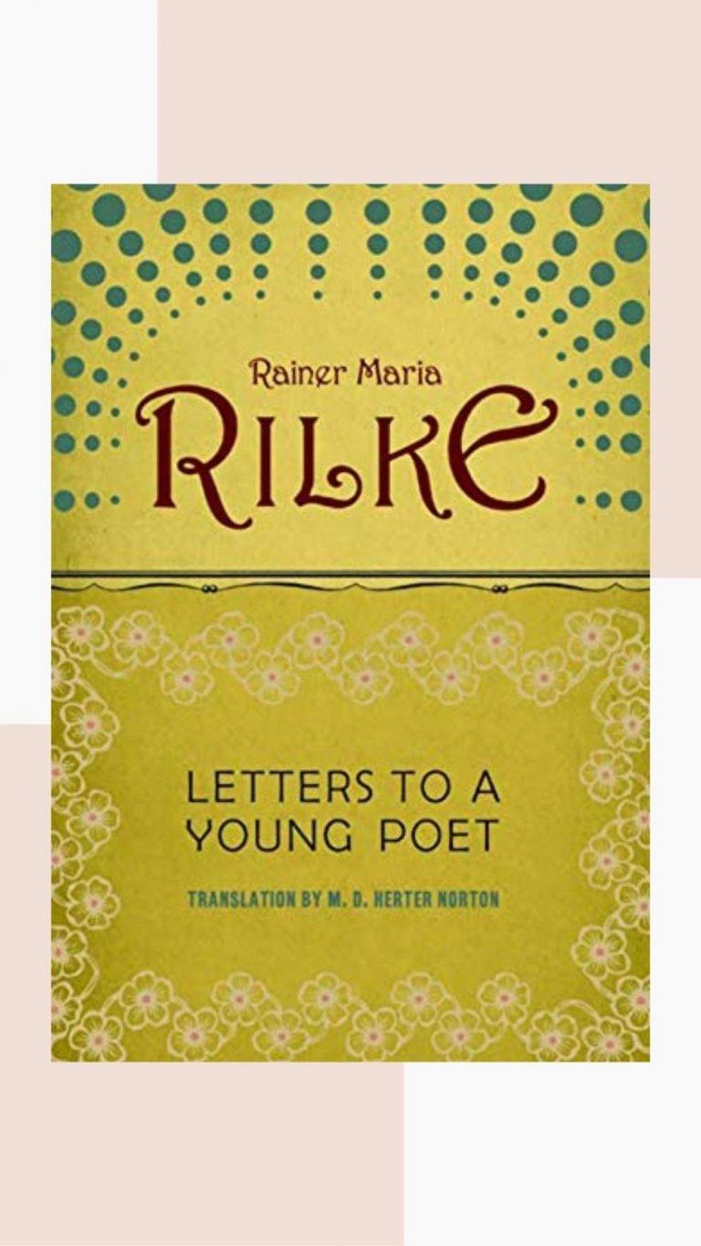 cartas a un joven poeta, buen libro