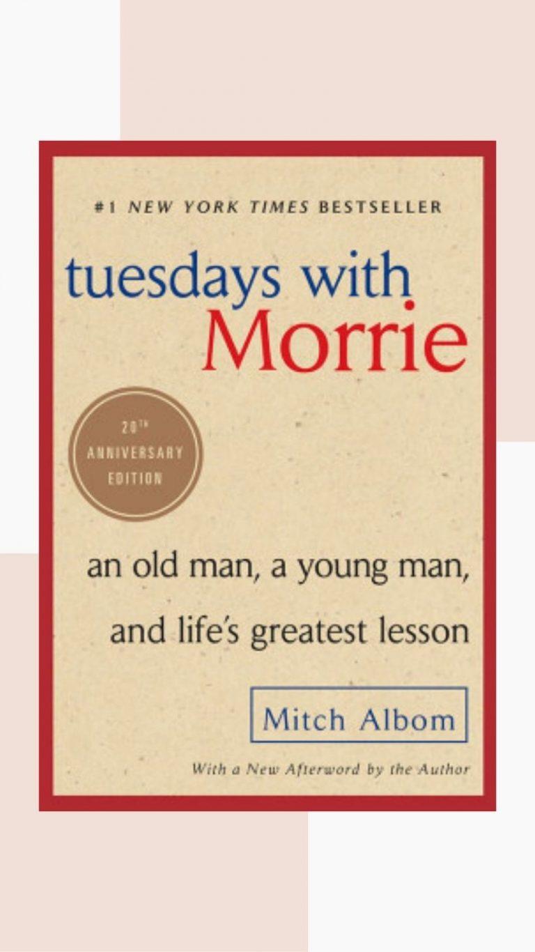 martes con morrie, buen libro