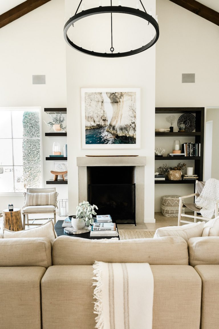 """Camille Styles Home """"before"""" living room"""