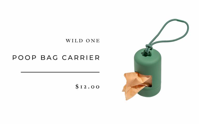 Poop Bag Carrier by Wild One