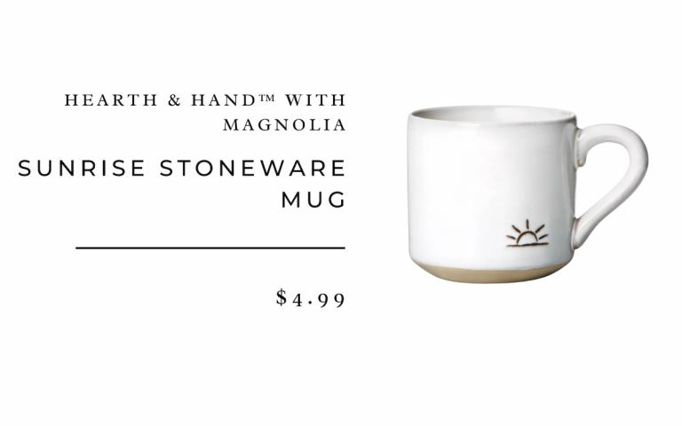 Taza de gres Sunrise - Hearth & Hand ™ con Magnolia