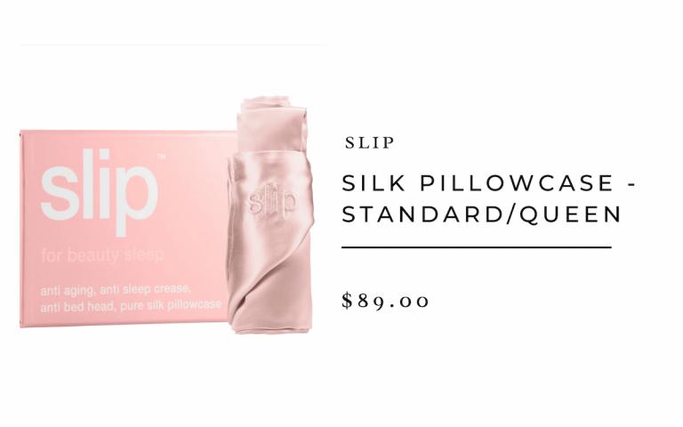 Funda de almohada de seda deslizante
