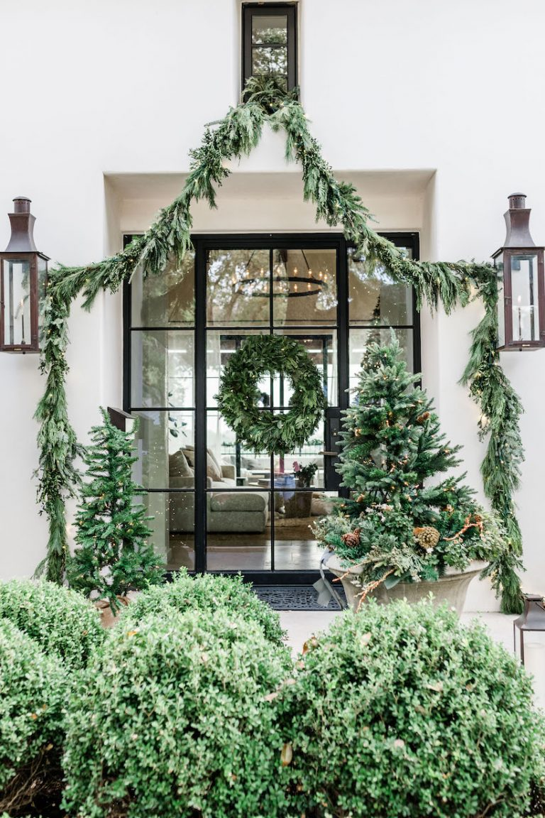 camille styles front porch christmas decor
