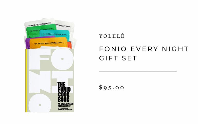 Yolélé Fonio Every Night Gift Set