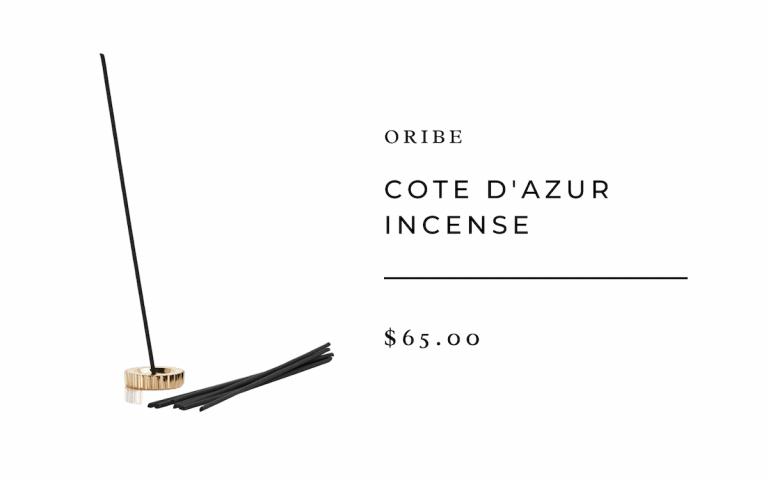 """oribe : Cote d'Azur Incense """""""