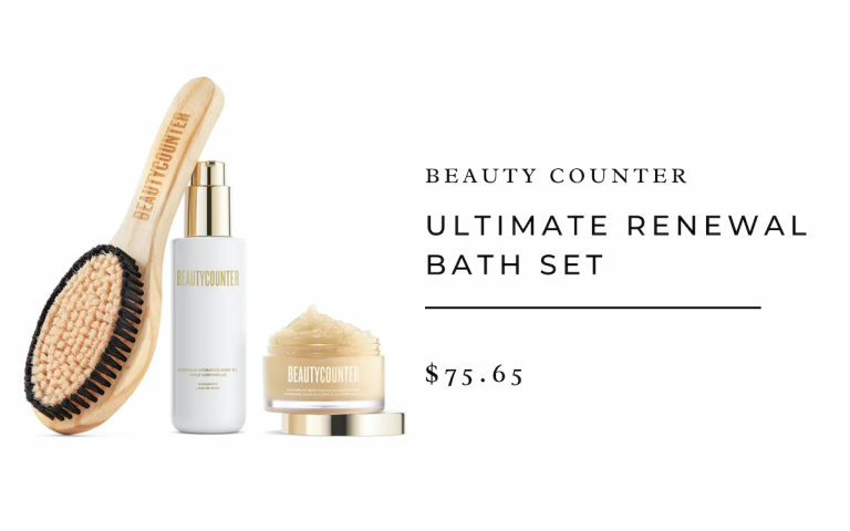 Beauty Counter - Ultimate Renewal Bath Set