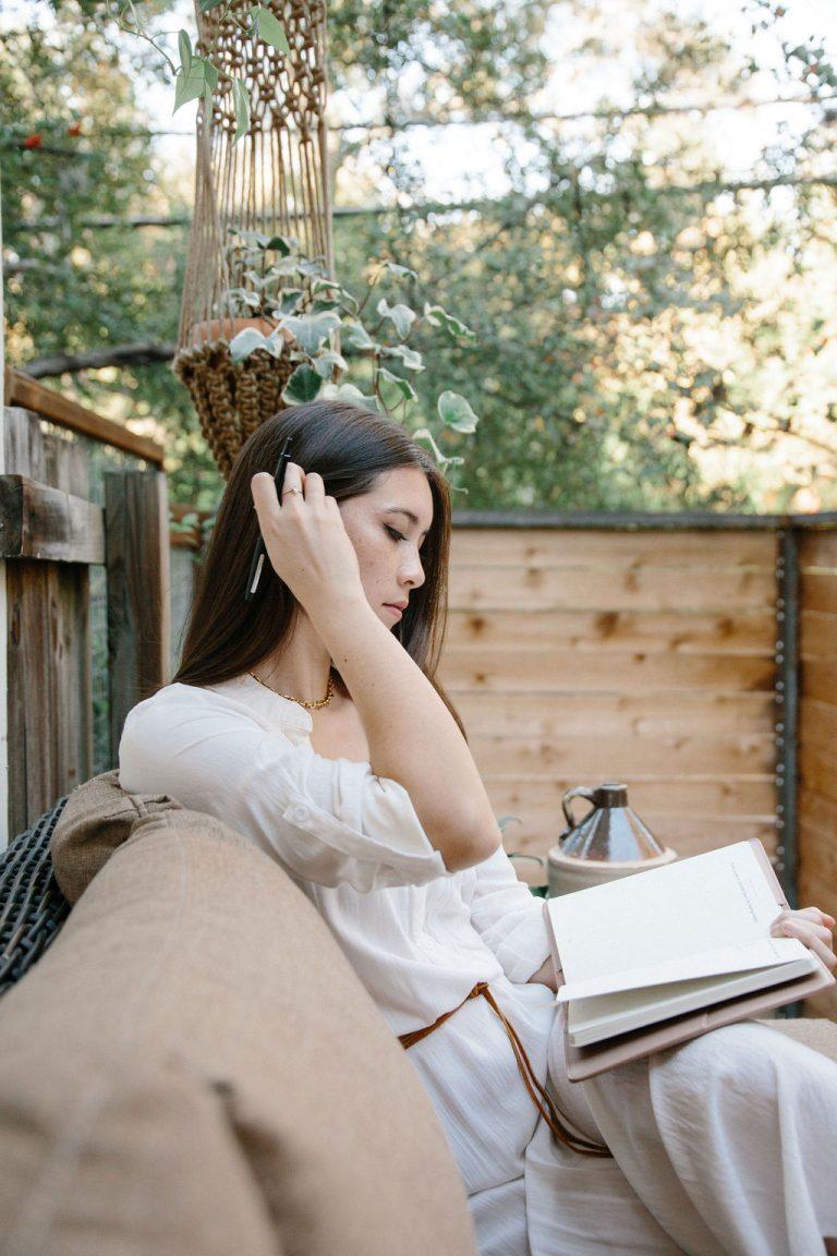 journaling; stress tips
