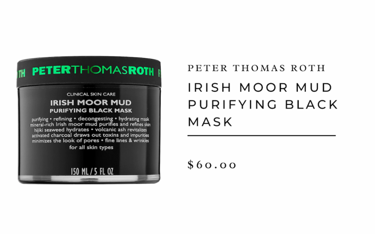 Máscara de barro irlandés de Peter Thomas Roth Moor