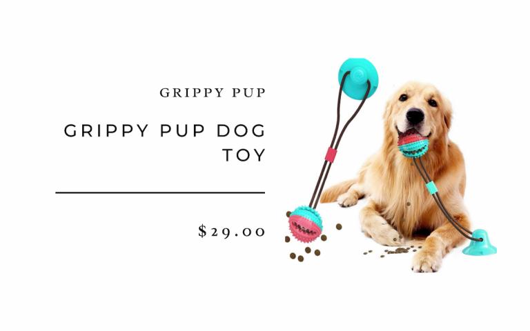 Grippy Pup Dog Toy