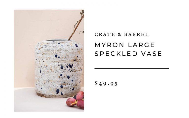 Crate & Barrel Vase