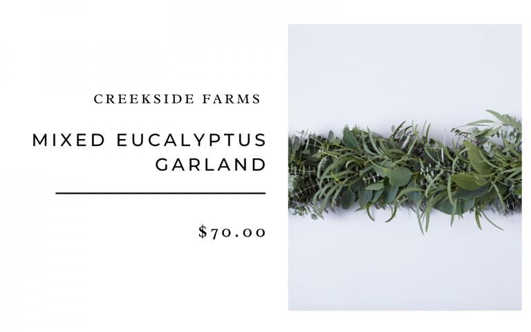 creekside farms eucalyptus garland
