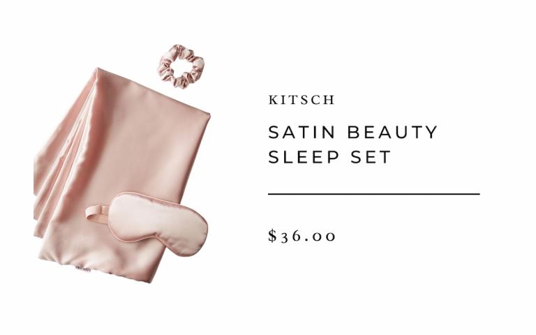 KITSCH Satin Beauty Sleep Set