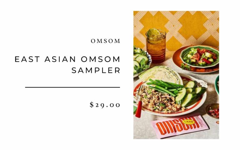 Omsom East Asian Omsom Sampler