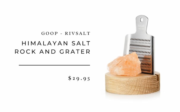 Himalayan Salt Rock and Grater