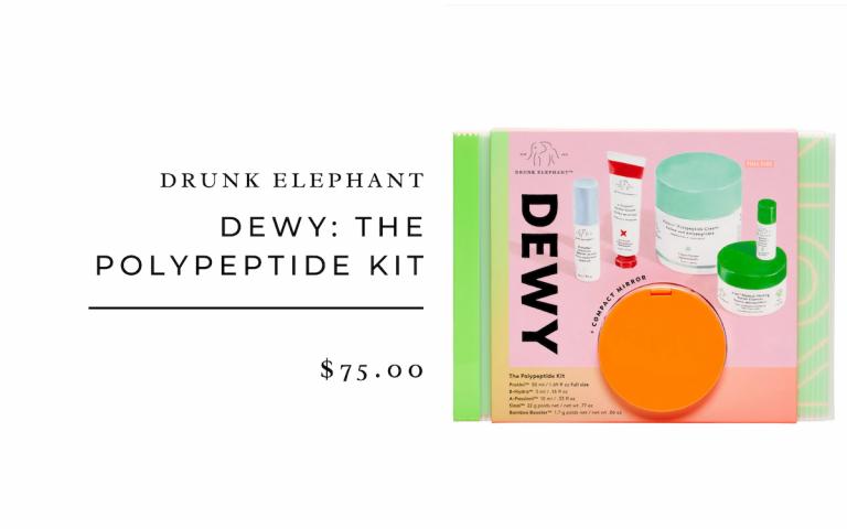 Drunk Elephant Dewy: The Peptide Kit