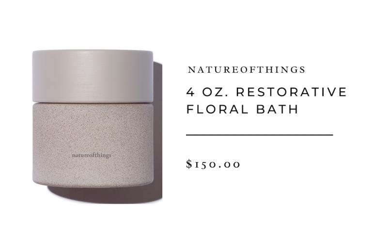 natureofthings4 oz. Restorative Floral Bath