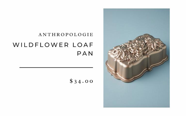 Flower Loaf Pan