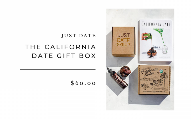 Just Date The California Date Gift Box