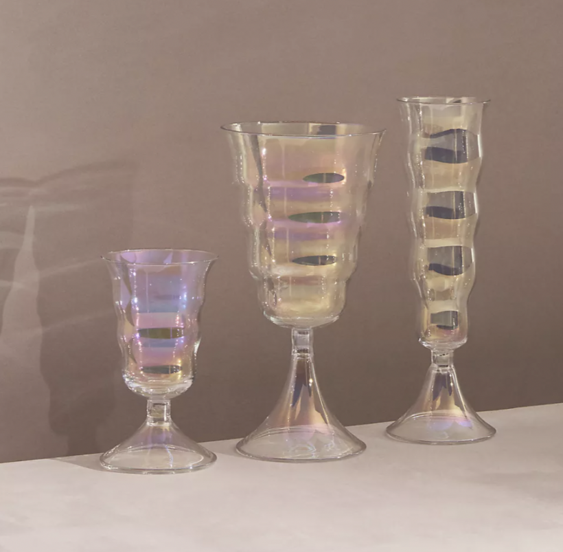 anthropologie lemieux set of glasses