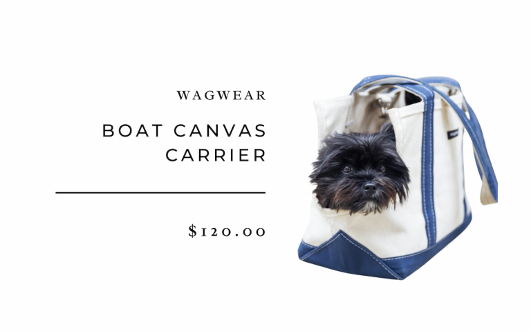 Wagwear Boat Canvas Carrier