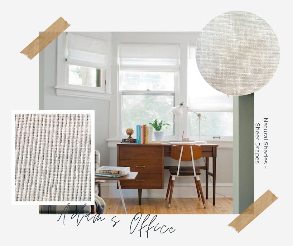 Camille's Office Window Treatments