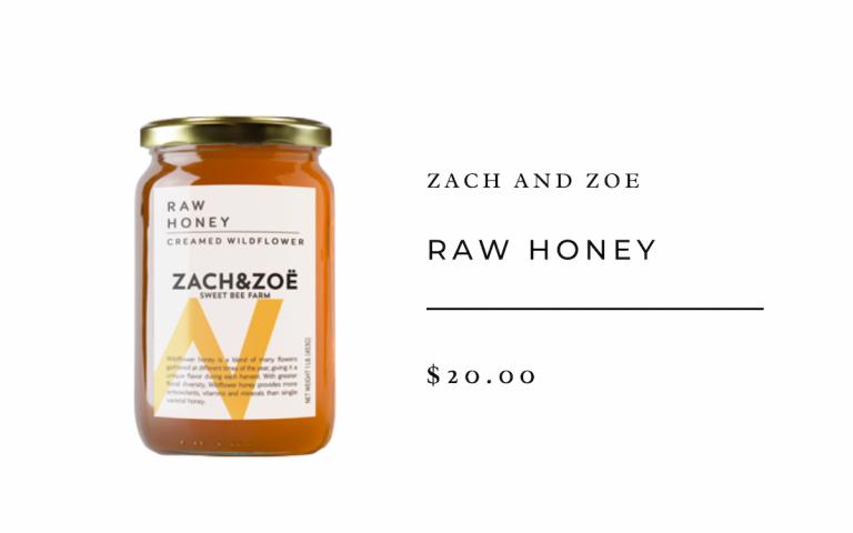 Zach and Zoe Raw Honey