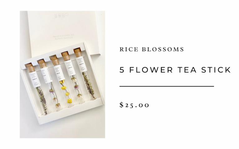 Rice Blossoms 5 Flower Tea Stick