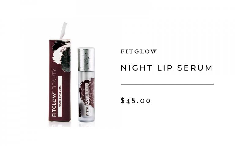 Fitglow Night Lip Serum