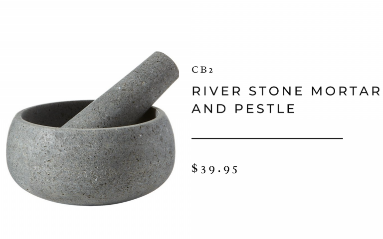 River Stone and Pestle