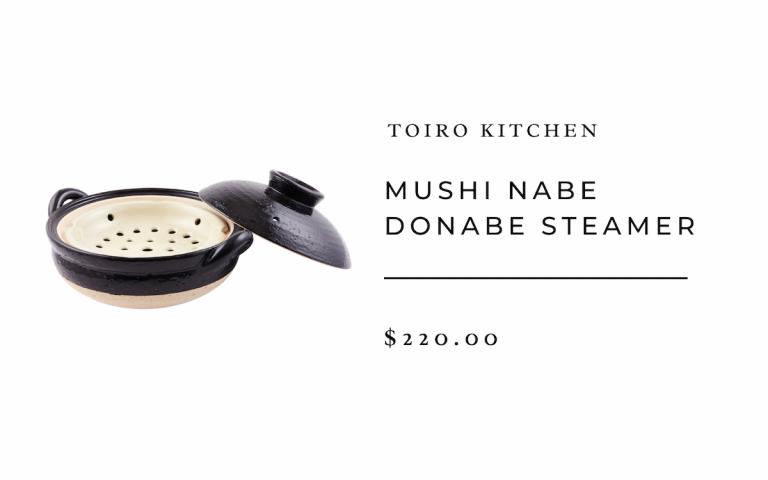 Toiro Kitchen Mushi Nabe Donabe Steamer