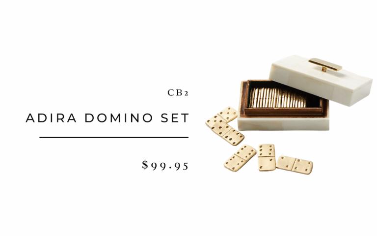 CB2 Adira Domino Set